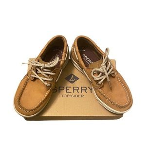 "Sperry ""boat shoes"" loafers Boys 12.5"